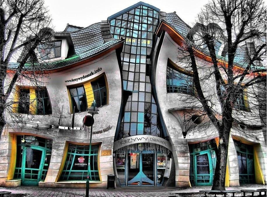 Le case pi belle del mondo sopot e la casa ubriaca for Foto di interni case bellissime