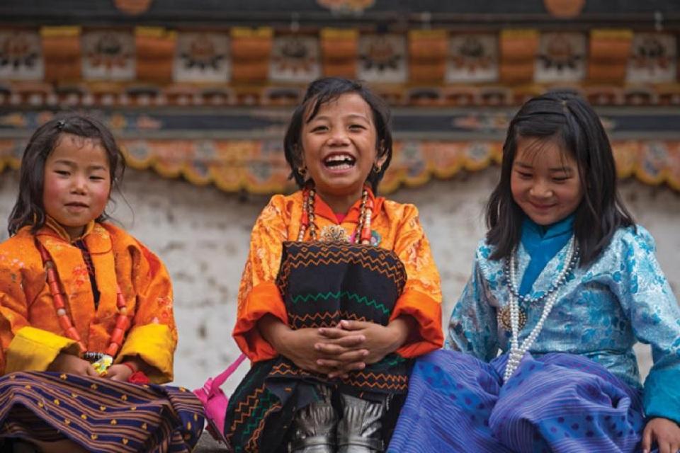 bhutan felicità