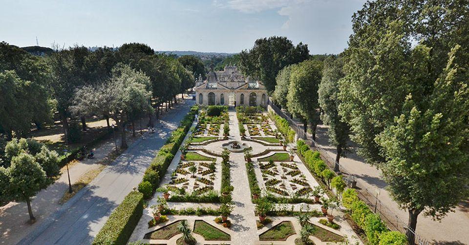 Villa borghese il giardino segreto torna all 39 antico splendore travelglobe - Il giardino segreto roma ...