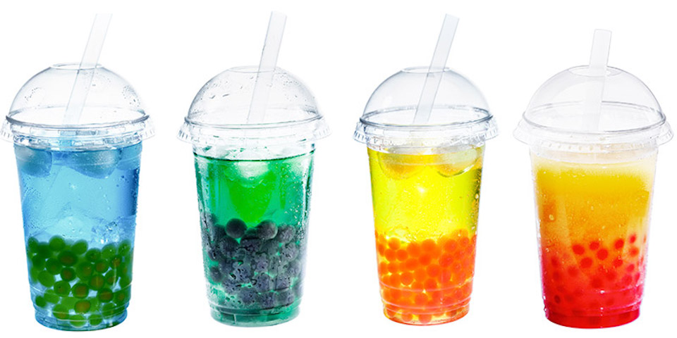 Different sorts of Boba