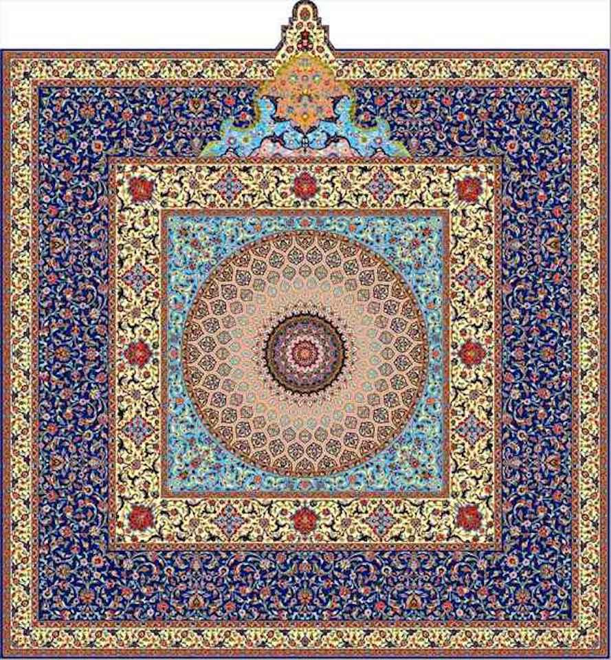 tappeto mashhad