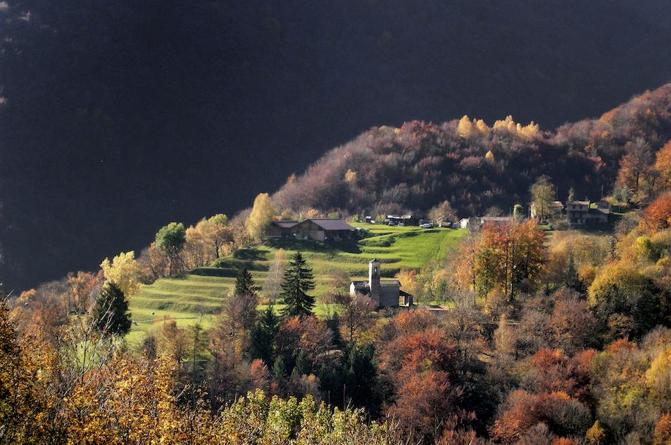Muggiotal, Dorf